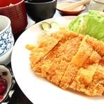 玉乃家 - 世羅高原豚トンカツ定食