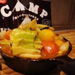 野菜を食べるカレーcamp - 1日分の野菜カレー