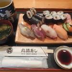 丸清寿司 - ワンコインランチ ¥540-