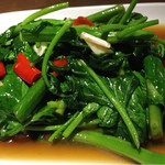 53249967 - 空芯菜 の炒め物