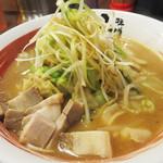 味噌蔵ふくべえ - 『熱旨野菜の味噌ラーメン』740円。