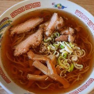 ミッキー食堂 - 料理写真:中華そば(550円)