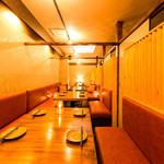 虎丸 - 各種ご宴会に最適な個室席を完備しております。