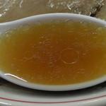 53252713 - 鶏ガラ出汁の美味しいスープ