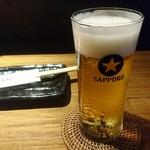チャルマン - 生ビール(小)