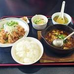 広東菜館 香園 - 料理写真:四川定食1100円♪