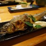 日本料理里乃や - 鮎の塩焼き