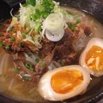 そらまめ拉麺本舗 - 大肉麺(2016/7)