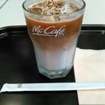 マクドナルド - ドリンク写真:アイスカフェラテ(Mサイズ) おかげで生き返りました♡