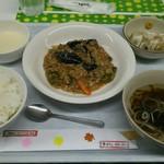 カフェ・クローバー - ある日のランチ 麻婆豆腐