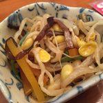 居酒屋 千 - sen:お通しの優しいおふくろの味の和え物
