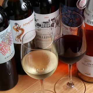 国内外のワイン多数!(ギリシャなど)