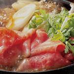 米沢牛黄木 金剛閣 すき焼き しゃぶしゃぶ 毘沙門 - 料理写真: