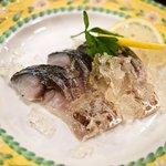 バルタパス - しめ鯖のシャンパンゼリー
