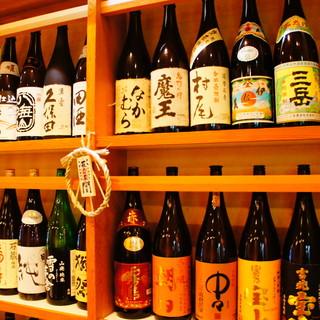 【日本酒と焼酎】〜定番なものから希少なものまで〜