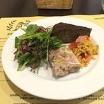 イルチッチォーネ - 前菜3種盛り