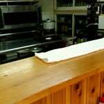 さぶちゃん - カウンター席から厨房を望む