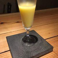 やさいのShot BAR あぐりこ - 立川産とうもろこし「恵味ゴールド」のカクテル