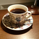 ジャムカフェ - 食後のコーヒー。
