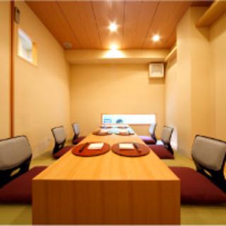 【個室あり】和の贅を尽くした空間。お茶が導く麗しの時間…
