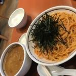 53280841 - 「濃厚ウニつけ麺」大盛り 1,200円 2016/06
