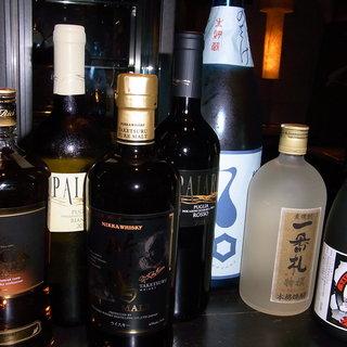 店主厳選のこだわりの日本酒は、当店自慢のお造りとどうぞ。