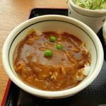 53281705 - カレー丼(小)旨し!