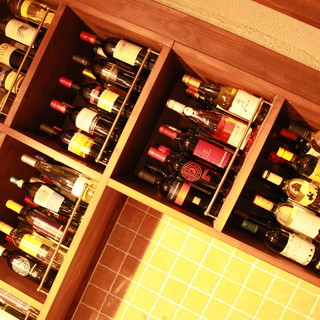 【ワイン】赤、白、ロゼ、スパークリングも種類豊富