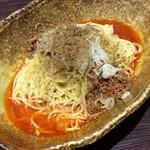 53282150 - (広島風)汁なし担々麺。辛さは「x3」にした。