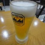 そば居酒屋太閤 - 生ビール 1607