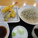 そば居酒屋太閤 - 青じそ小&天ぷらセット 1607