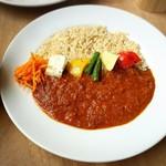coya-p - 料理写真:玄米と野菜のカレー