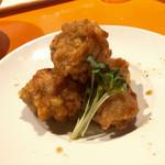 麺屋玉ぐすく - 鶏の唐揚げ(特別メニュー)