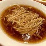麺屋玉ぐすく - 醤油ラーメン(素)