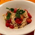 麺屋玉ぐすく - トマトの冷製サラダパスタ(特別メニュー)