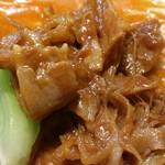 はなさき家 - 肉味噌&チンゲン菜