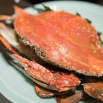藤吉 - 2016.7 蒸し渡り蟹(渡りガニを食べる会 6,900円)