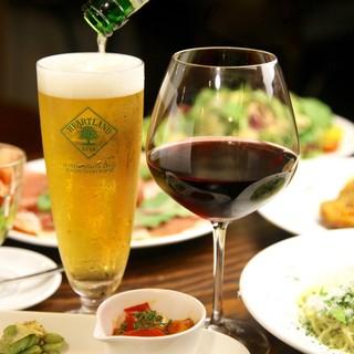 『お料理に合わせてセレクト』豊富なワイン