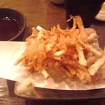 53291152 - 野菜かきあげ 360円(税込)(2016年7月6日撮影)