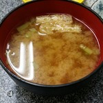 朝昼晩 - 味噌汁(プライスレス)(≧▽≦)