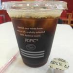 ケンタッキーフライドチキン - アイスコーヒー ¥190→¥100