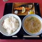 寿食堂 - 豚汁定食(28.6.15)