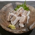 ぎをん 遠藤 - 16年6月 韓国産鱧の焼霜