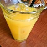 平野パン - オレンジジュース