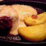 サフォーク大地 - ラム肉のハンバーグ