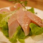 BISTROあっけし - 北海道産 生ホッケの刺身