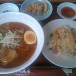 中国茶家 - 料理写真:麺セット@880