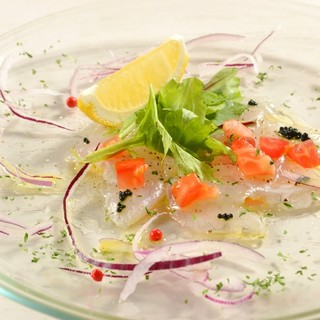 ★食材を楽しむ-魚や野菜など食材の産地を厳選してご用意♪