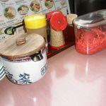 九州筑豊ラーメン 山小屋 - 調味料類