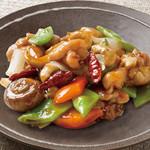 Lei can ting - 若鶏とカシューナッツの炒め